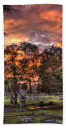 Sunset Reflections And Life Beach Towel