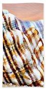 Sunset Seashell Beach Towel