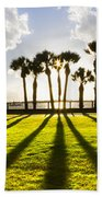 Sunset Sentinels Beach Towel