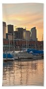 Buenos Aires Sunset Beach Towel