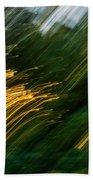 Sunset Swipe Beach Towel