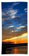 Sunset  Beach Towel