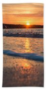 Sunset Tourists Beach Towel