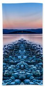 Sunset Way Beach Towel