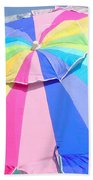 Sunshine And  Rainbows Beach Towel