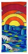 Sunshine Through My Window Beach Towel by Susan Claire
