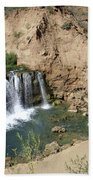 Supai Falls Beach Towel