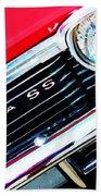 Super Sport 2 - Chevy Impala Classic Car Beach Sheet