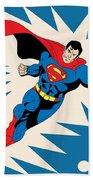 Superman 8 Beach Towel