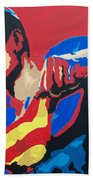 Superman - Red Sky Beach Sheet