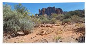 Superstition Mountains Beach Towel