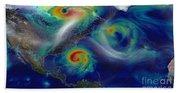 Superstorm Sandy Beach Sheet