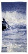 Surf At Summer Beach Towel