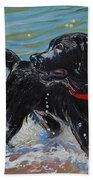 Surf Pup Beach Towel by Molly Poole