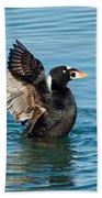 Surf Scotter Male Wings Beach Towel