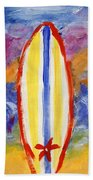 Surfboards 1 Beach Towel