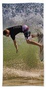 Surfer 9222013 Beach Towel