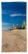 Surfers Paradise Beach By Day Beach Towel