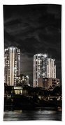Surfers Paradise By Night Beach Towel