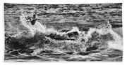 Surfin In The Usa V8 Beach Towel