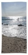 Surfing Mercury Beach Towel