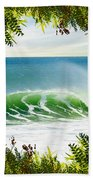 Surfing Paradise Beach Towel
