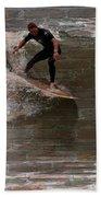 Surfing The Bricks Beach Towel