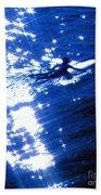 Surfing The Stars Beach Towel