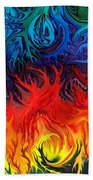 Surreal Dance By Rafi Talby   Beach Towel
