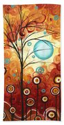 Surrounded By Love By Madart Beach Towel