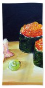 Sushi 6 Beach Towel