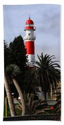 Swakopmund Lighthouse - Namibia Beach Towel