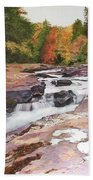 Swallow Falls Beach Towel