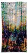 Swamp Colorfest Beach Towel