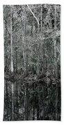 Swamp Greens Beach Towel