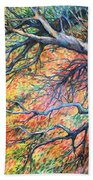 Sway Dancing Trees Beach Towel