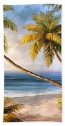 Swaying Palms Beach Towel