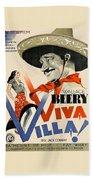 Swedish Poster #1   Viva Villa 1934-2008 Beach Towel