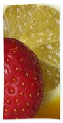 Sweet And Sour Beach Towel