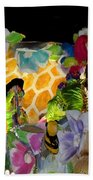 Sweet As Honey - Honey Bees Beach Towel