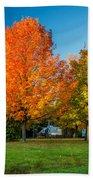 Sweet Autumn Beach Towel
