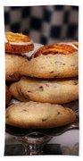 Sweet - Cookies - Cookies And Danish Beach Towel
