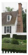 Sweet Home In Colonial Williamsburg Beach Towel