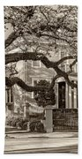 Sweet Home New Orleans 2 Sepia Beach Towel