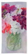 Sweet Peas Beach Towel