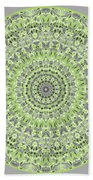 Sweet Spring Mandala Beach Towel