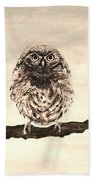 Sweetest Owl Beach Towel