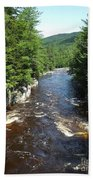 Swift River Below Rocky Gorge New Hampshire White Mountains Beach Towel