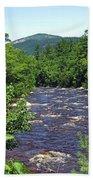 Swift River Mountain View Kancamagus Hwy Nh Beach Towel