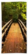 Swinging Bridge Beach Towel